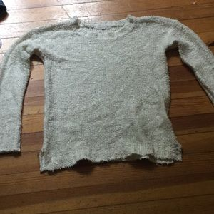 white copper key sweater
